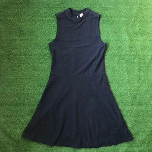Divided Navy Fit & Flare Dress